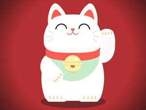 symbole-chance-japon-chat